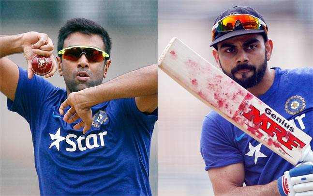 Image result for ashwin vs kohli