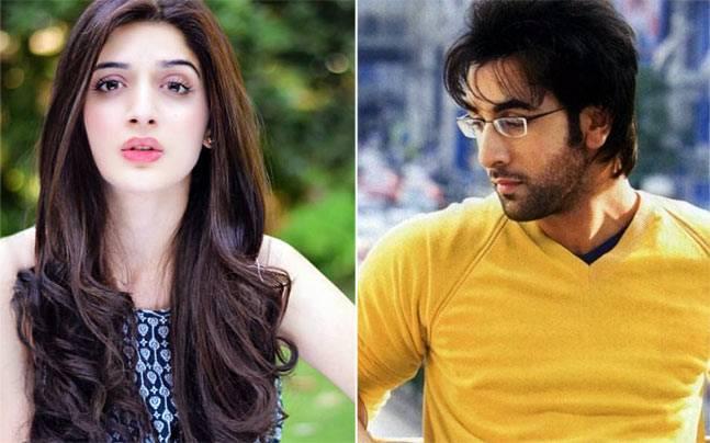 Mawra Hocane and Ranbir Kapoor