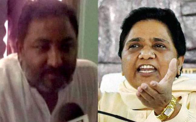 Dayashankar Singh and Mayawati