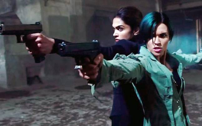 Deepika Padukone and Ruby Rose in a still from xXx The Return of Xander Cage