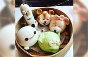 These cartoon-themed dim sums at Disneyland are way too cute to eat!