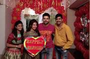 Divyanka Tripathi, Vivek Dahiya get a warm welcome at home; see pics
