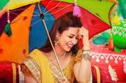 Divyanka Tripathi is pretty as a picture in these shots from her Haldi ceremony