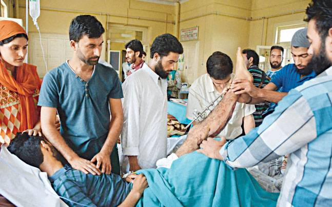 Kashmir tense