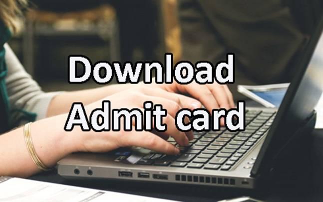 CEPTAM 8 admit card