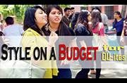 Style tips on a budget for college goers