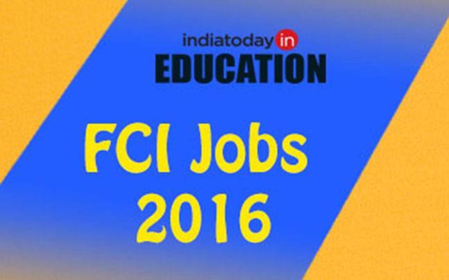 FCI Jobs 2016