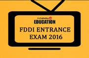 FDDI Entrance Exam 2016: Check out important dates and application process