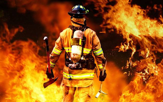 Become a fire fighter
