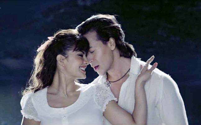 Tiger Shroff and Jacqueline Fernandez in a still from Toota Jo Kabhi Tara