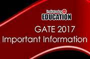 GATE 2017: New changes introduced