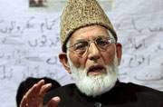 Repeal AFSPA, release prisoners for peace and resolution, says Geelani