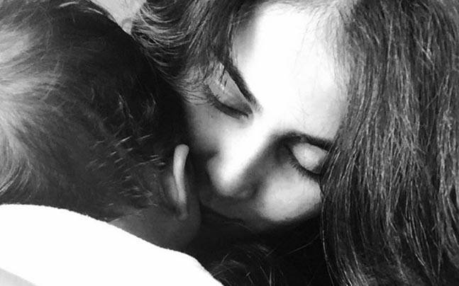 Genelia Deshmukh and her second-born Rahyl