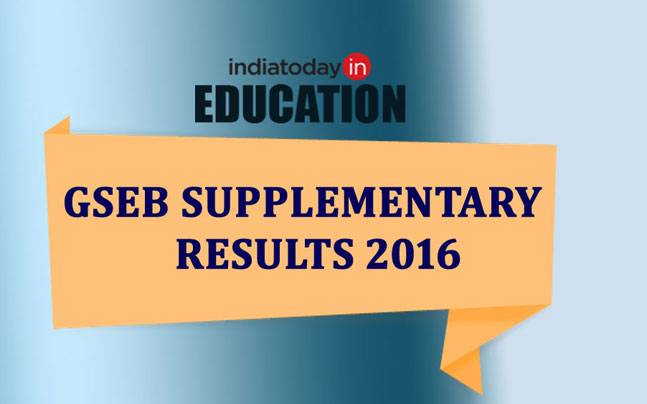 GSEB Supplementary Results 2016: