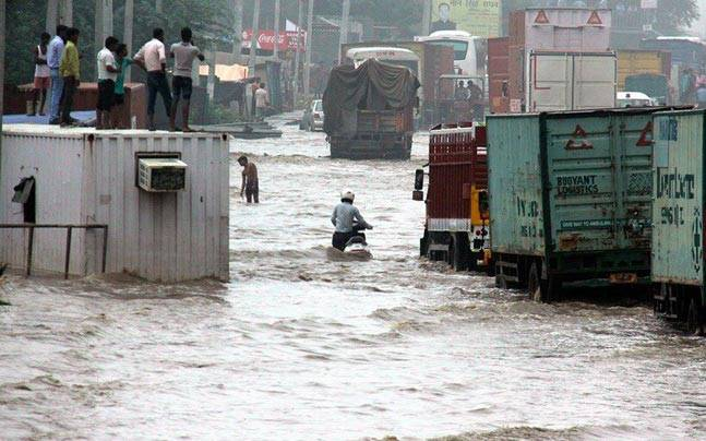 Floods in Gurgaon