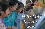 HPU MAT 2016: Results to be out on July 7, download the score card from hpubsshimla.org