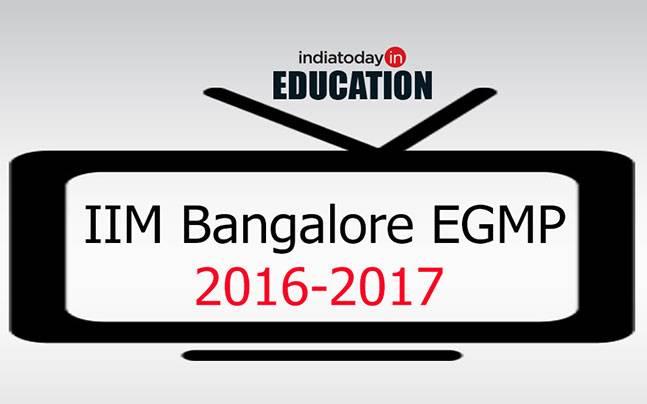IIM Bangalore EGMP 2016