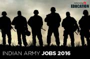 Indian Army Recruitment 2016: Apply online