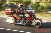 Indian Roadmaster brings in elegance and class