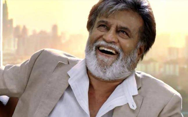 Rajinikanth in a still from Kabali