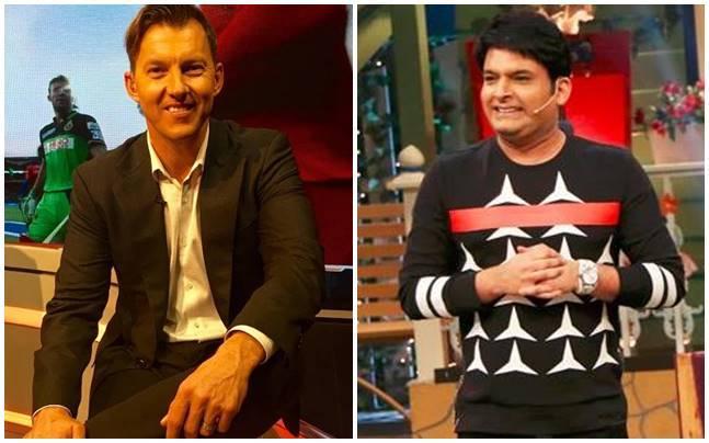 Kapil Sharma is all set to shoot with Brett Lee. Picture courtesy: Instagram/Brett Lee, Twitter/Kapil Sharma