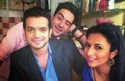 Karan Patel returns to Yeh Hai Mohabbatein sets post honeymoon; here