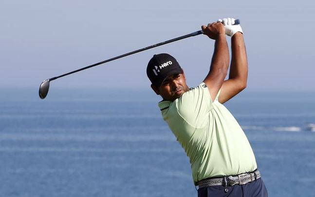 A file picture of Anirban Lahiri. (Reuters Photo)