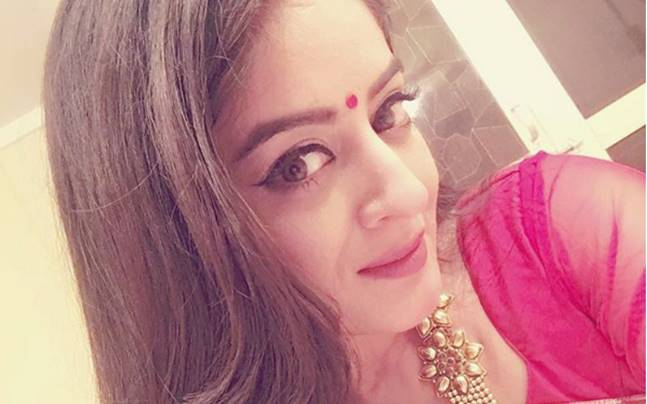 Mahhi Vij played the role of protagonist Dr. Nandini in Balika Vadhu Refreshed. Picture courtesy: Instagram/Mahhi Vij