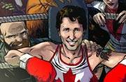 The overwhelmingly handsome Justin Trudeau is now a full-fledged, 'Marvel'lous cover boy