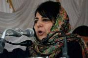 Mehbooba Mufti vouches for more educational institutes in the Valley, invokes the case of Palestine