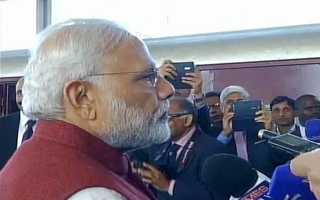 PM Modi in Pietermaritzburg (South Africa)