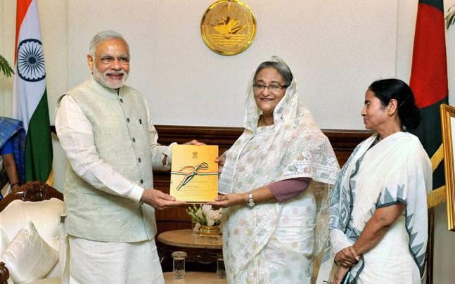 Modi and Hasina