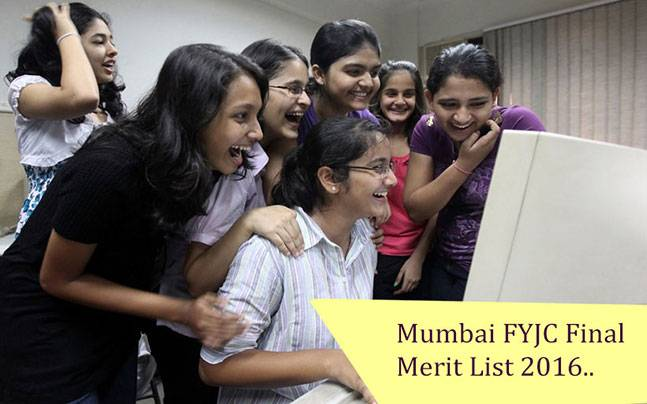 Mumbai FYJC final merit list to be announced today