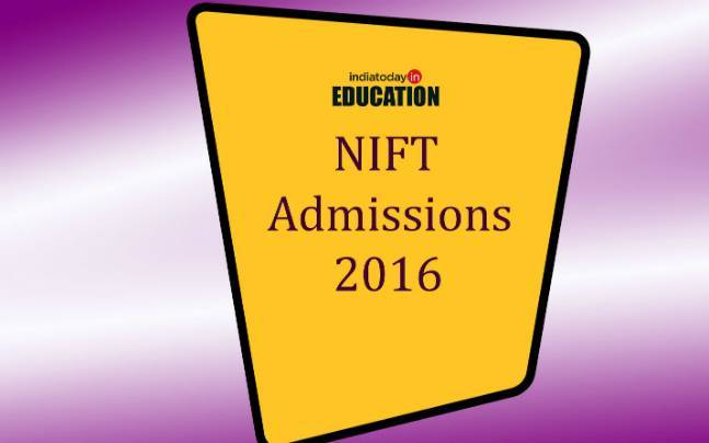 NIFT Admissions 2016