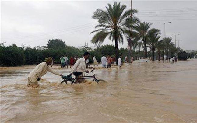 Pakistan flash flood