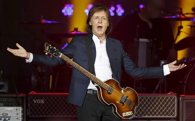 Beatles legend Paul McCartney. Photo: Reuters
