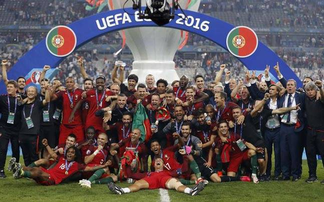 Euro 2016 champions Portugal