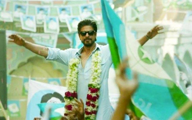 Shah Rukh Khan as Miyan Bhai in Raees