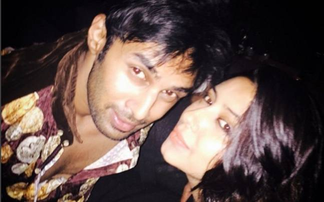 Rahul Raj Singh and Pratyusha Banerjee in happier times. Picture courtesy: Instagram/Pratyusha Banerjee