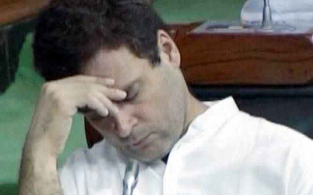 Rahul Gandhi in Lok Sabha (Courtesy: Lok Sabha TV)