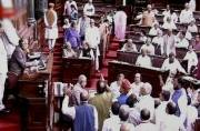 Bitter fight breaks out in Rajya Sabha over Bhagwant Mann's video