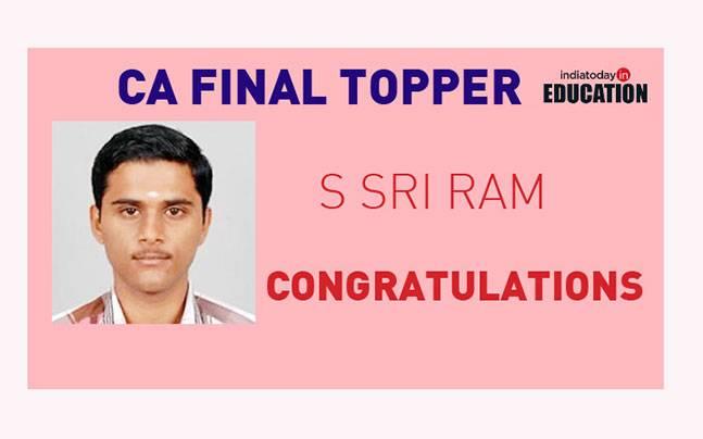 S Sri Ram