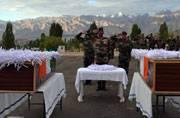 Two Army solidiers killed in mine blast on LoC in Kargil