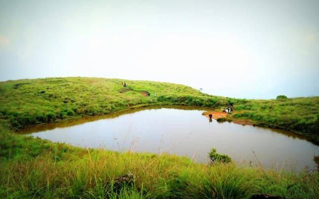 The heart-shaped Chembra Lake is a living example of nature's amazing creations. Photo: Sakshi Arora