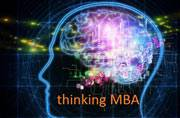 How can you differentiate between successful and unsuccessful MBA applicants?