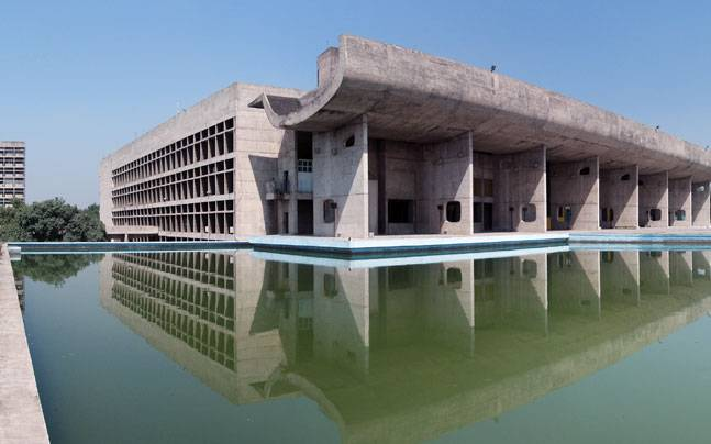 Chandigarh's Capitol Complex figures on the list.