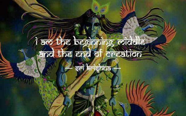 Happy Janmashtami Lord Krishna's Quotes From Srimad BhagavadGita New Lord Krishna Quotes