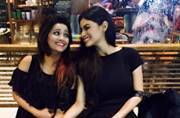 Onscreen Naagin sisters Mouni and Adaa meet after a long time, have a blast