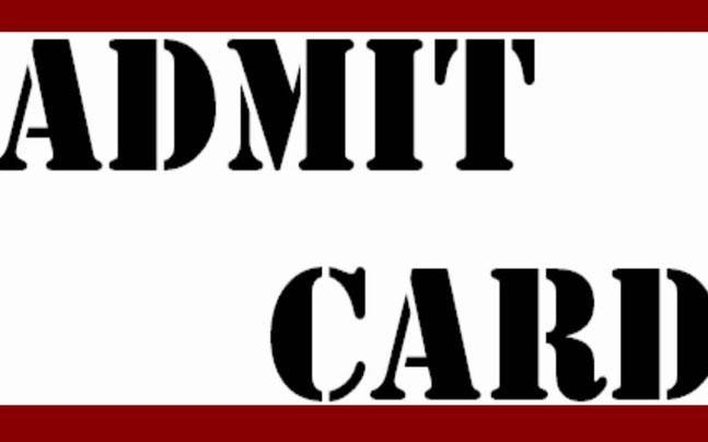 Download the admit card at rpsc.rajasthan.gov.in