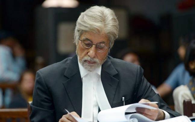 Amitabh Bachchan in Pink